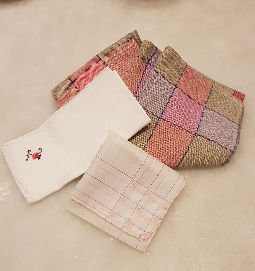 Usa la stoffa   risparmia la carta