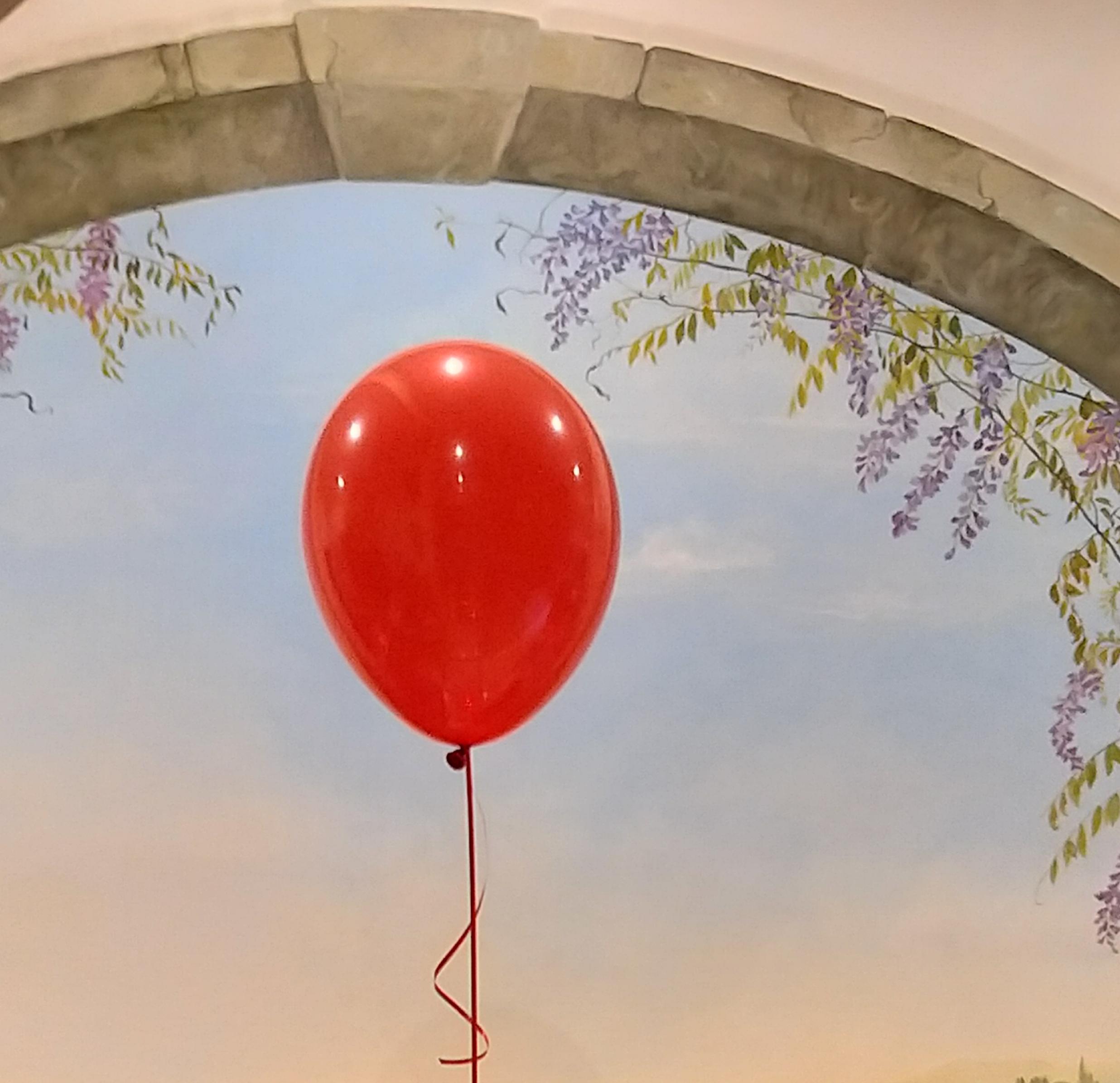 Cosa fanno i  palloncini in cielo?
